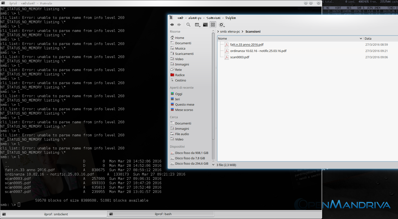 Samba and windows 10 shared folder strange behaviour - Support - OMA